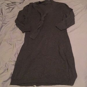 Banana Republic grey Sweater dress